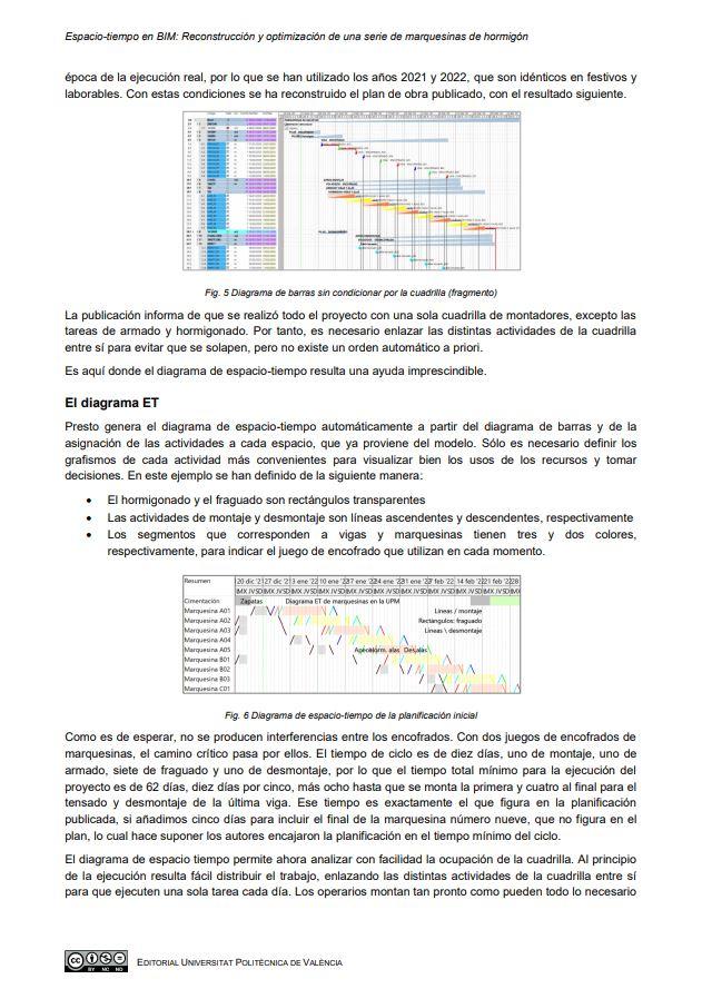 Espacio-Tiempo en BIM: Reconstrucción y optimización de una serie de marquesinas de hormigón